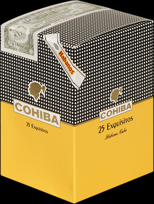 Cohiba Exquisitos. Коробка на 25 сигар